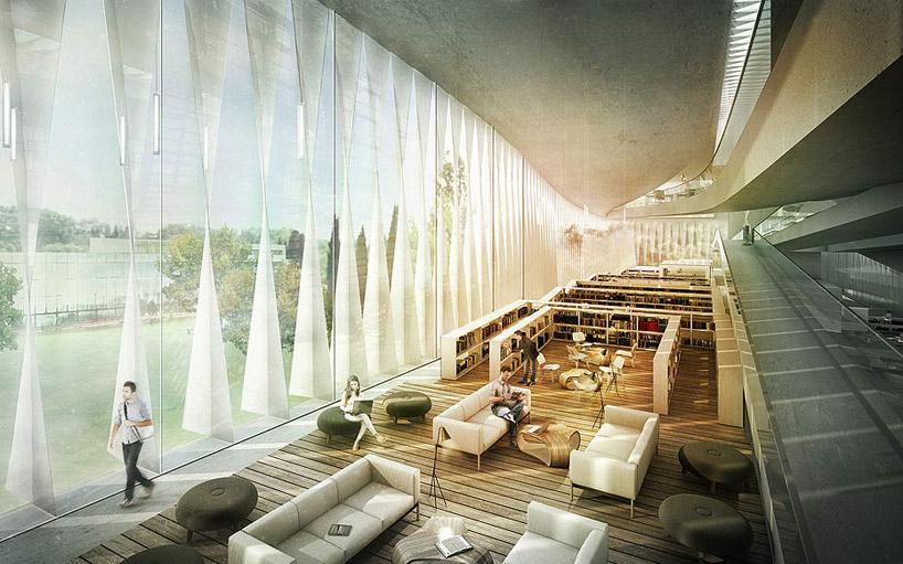 JDS architects helsinki public library proposal