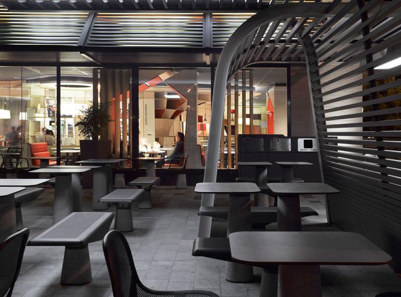 mcdonalds outdoor furniture designed by patrick norguet