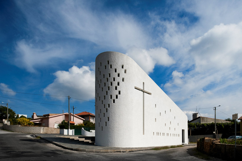 e348 arquitectura santa ana chapel portugal
