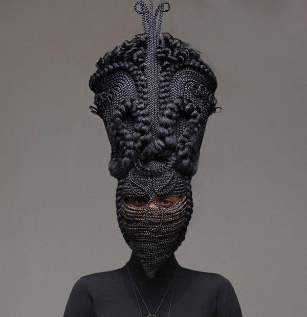 Hair Sculptures Tresse Agoche