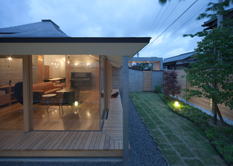 Nks Architects Broken Pitched Roof House Japan
