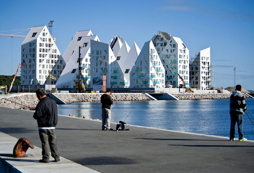 isbjerget apartment building aarhus