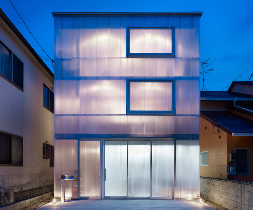 suppose design office house in tosuien