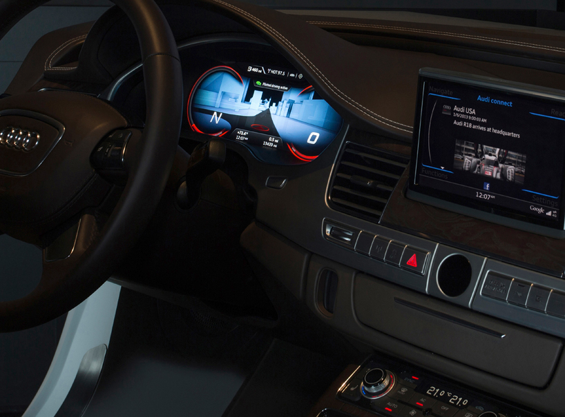AUDIs new automotive lighting technologies at CES 2013