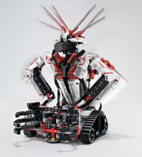 LEGO mindstorms EV3 programmable robots controlled by ...