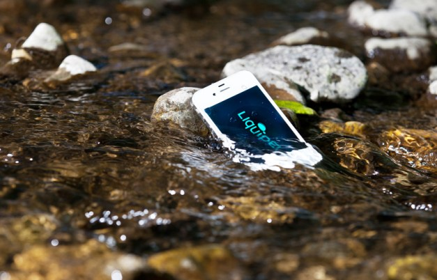 liquipel 2.0: smartphone waterproofing without a case