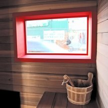 Shipping Container Transformed Sauna Castor