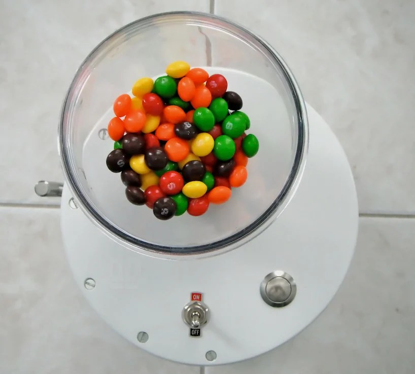 skittles sorting machine by brian egenriether