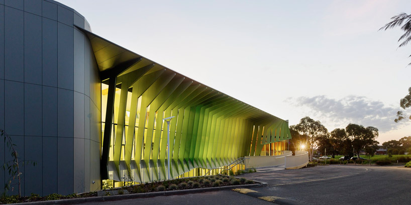 woods bagot KIOSC green school in victoria australia