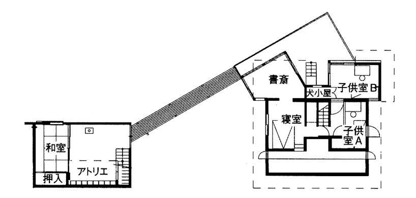 arts and crafts architectural design associates: okagami house