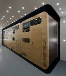 Arch Group Sleepbox Mobile Hotel Rooms