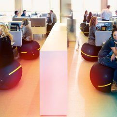 Office Chair Exercise Ball No Wheels Uk Technogym Active Sitting: Vs