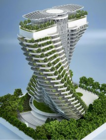 Vincent Callebaut Architectures Agora Tower Taipei Taiwan