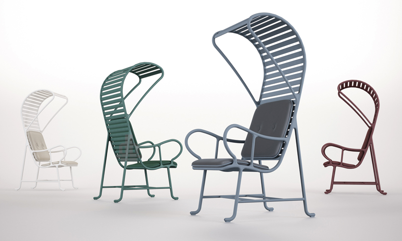 Jaime Hayon Gardenias Outdoor Furniture For Bd Barcelona