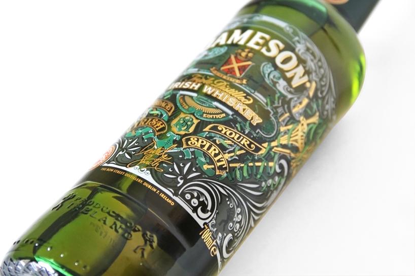 Jameson Whiskey St Patricks Day 2013 Label Design By