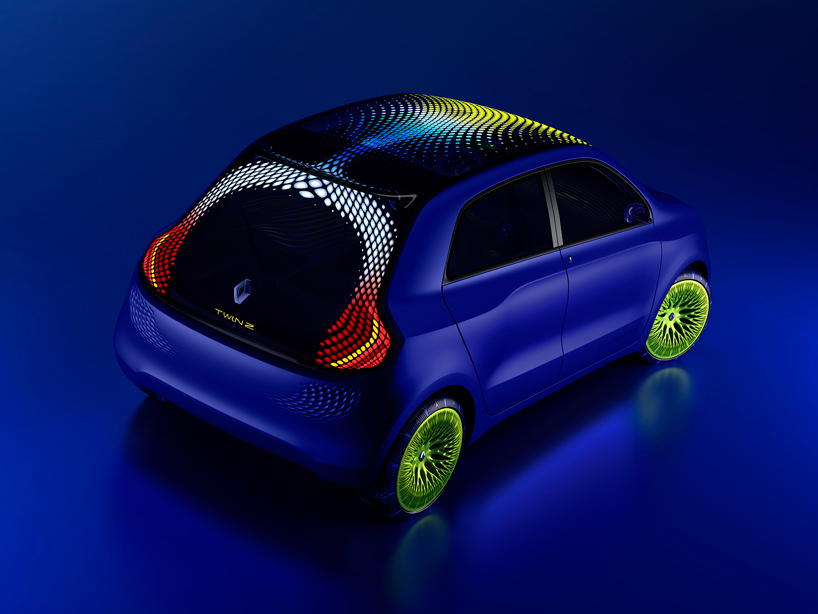 design chair kartell chrome dining chairs canada ross lovegrove: twin'z concept car for renault