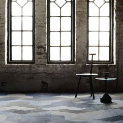 Revolving Chair And Drink Holder Wing Carpet Tile By Bolon Studio