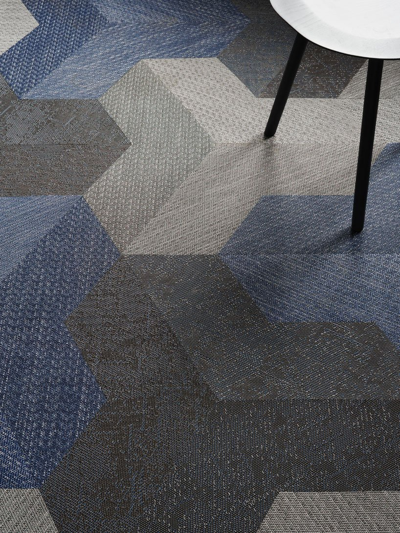 wing carpet tile by bolon studio