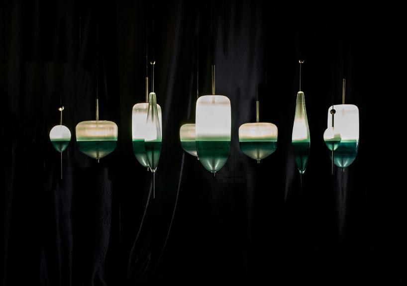 nao tamura flowt lighting for wonderglass