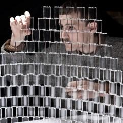 Revolving Chair Second Hand Zebra Folding Transparent Lego Chandelier By Tobias Tostesen