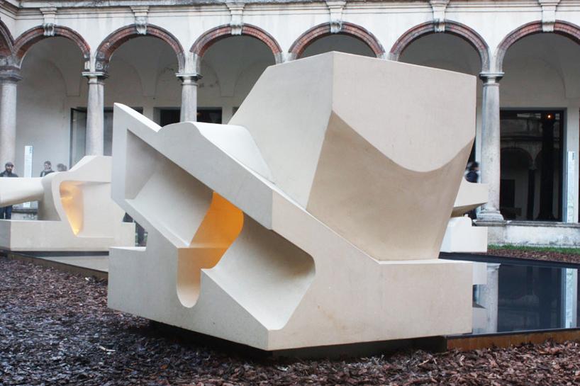 steven holl inversion INTERNI hybrid architecture  design
