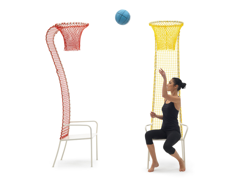 Lazy Basketball Chair By Emanuele Magini For Campeggi