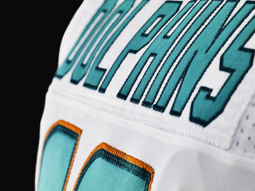 Orange Nike Elite Football Sleeve