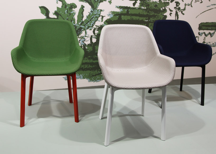 arm chair rocker electric hydraulic hair styling chairs patricia urquiola: clap + comback for kartell