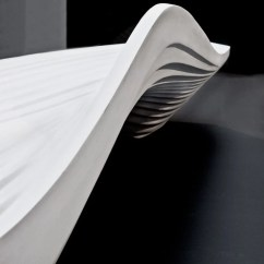 Design Chair Kartell Personalized Toddler Zaha Hadid: Serac Bench For Lab 23
