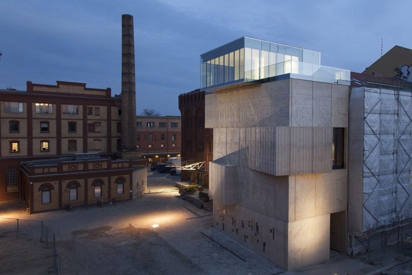 SPeeCH: tchoban foundation - museum for architectural drawing, berlin