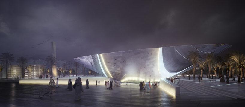 snohetta designs an urban oasis for riyadh metro station