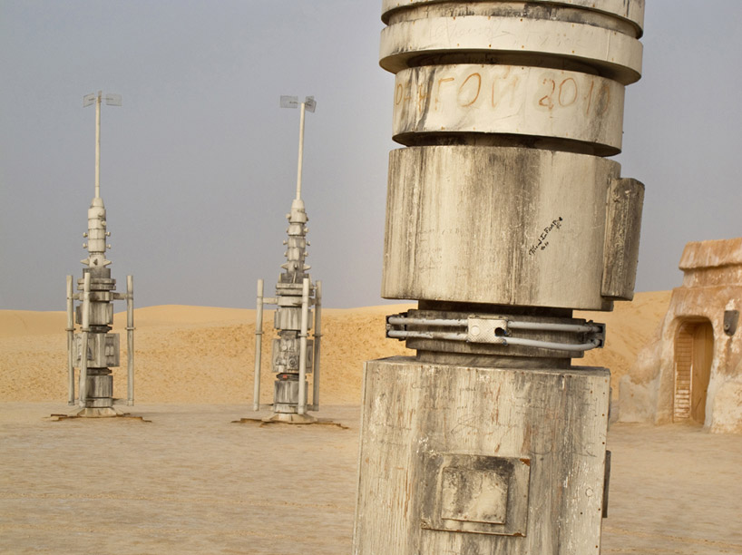 abandoned star wars film sets in the tunisian desert by ra