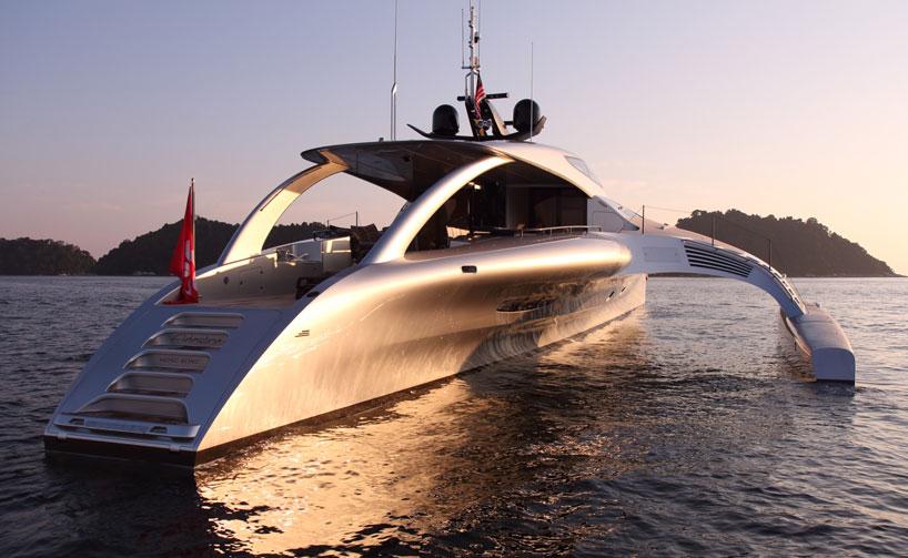 Superyacht Adastra By John Shuttleworth Yacht Designs