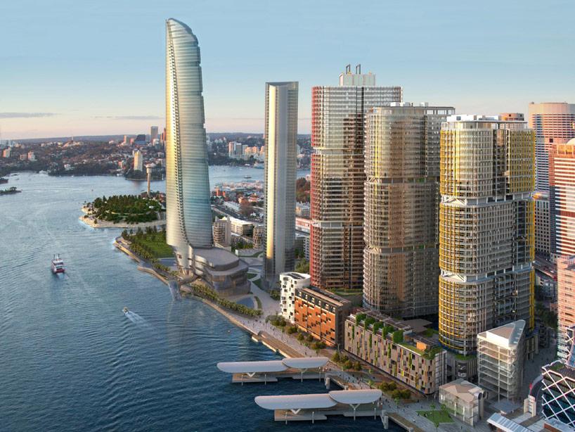 Adrian Smith Gordon Gill Crown Hotel Sydney Proposal
