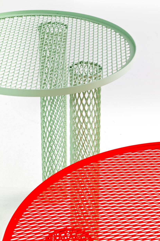 circular lounge chair bedroom design ideas image benjamin hubert: cradle + net tables for moroso
