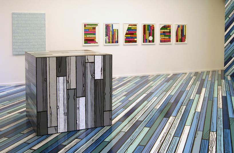 richard woods DIY exhibition at alan cristea gallery