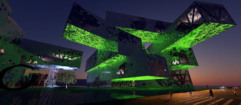MU architecture taichung city cultural center proposal