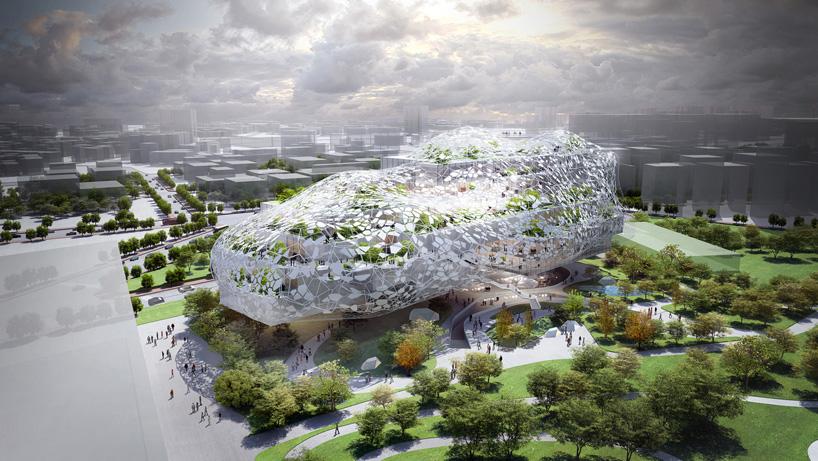 RMJM Architects Cultural Cloud Unifies Dichotomies