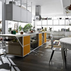 Colorful Wooden Kitchen Chairs Heated Lumbar Support For Office Chair Meccanica Door System - Demode Engineered By Valcucine
