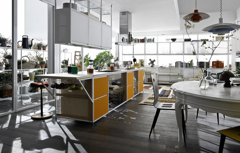 colorful wooden kitchen chairs buy tables and wholesale meccanica door system - demode engineered by valcucine