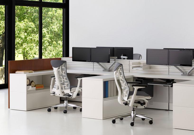 embody ergonomic office chair by herman miller