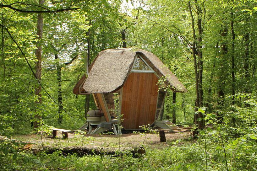 forest retreats  la noisette  le nichoir by matali crasset