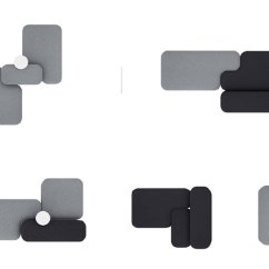 Herman Miller Lounge Chair Ergonomic For Short Person Naoto Fukasawa Designs Common Modular Seating Viccarbe