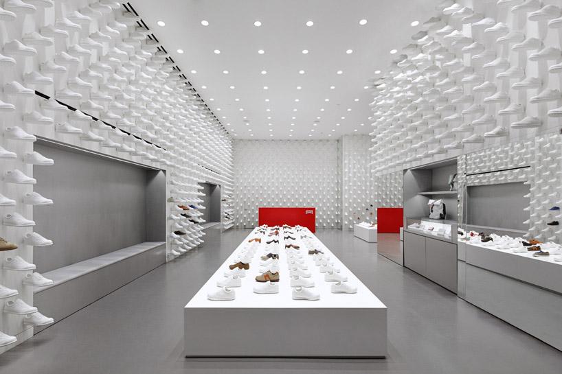 Nendo Camper Concept Stores In Madrid New York