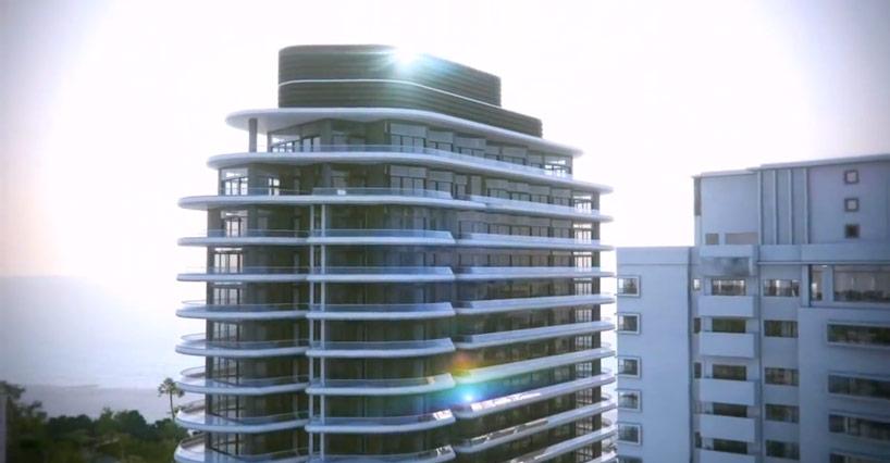 foster  partners faena house a miami beach luxury condo