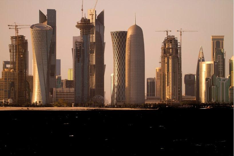 Jean Nouvel Burj Doha Shapes Gulf Citys Skyline