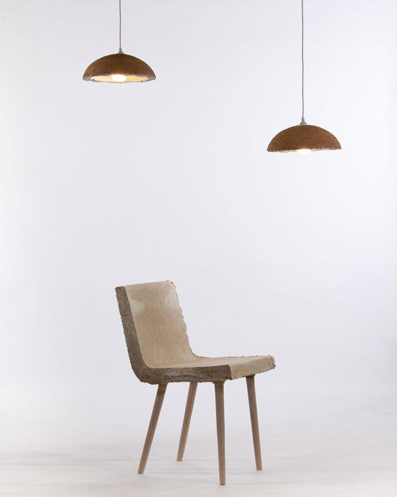 mushroom furniture by merjan tara sisman  brian mcclellan