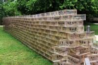 shu yong: great wall of guge bricks at the china pavilion