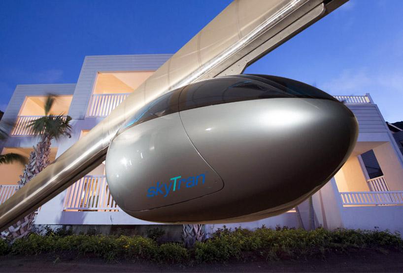 skytran: tel aviv builds the levitating public transit of the future