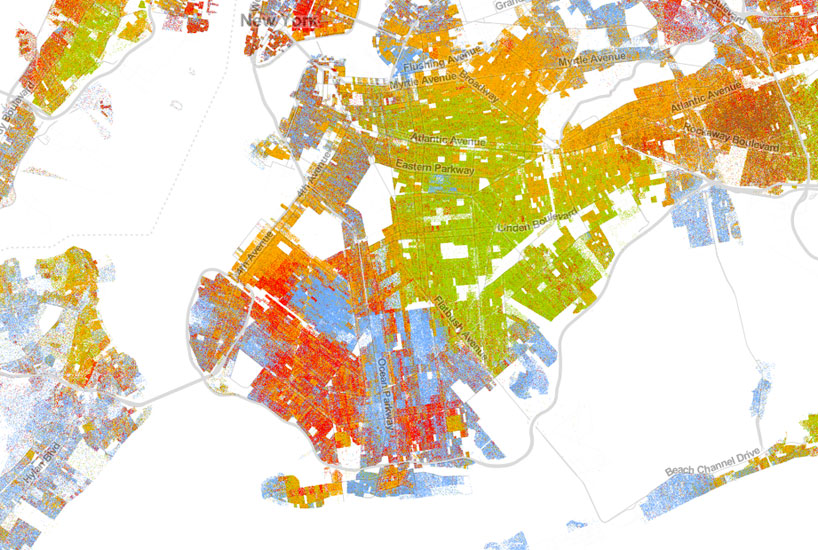census infographic exposes racial segregation in america